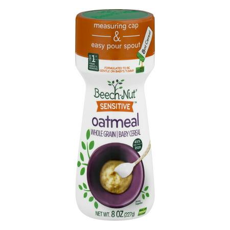 Beech Nut Sensitive Oatmeal Whole Grain Baby Cereal 8 0