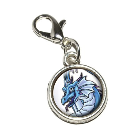 Cute Charms (Happy Blue Dragon - Cute Fantasy Medieval Bracelet)