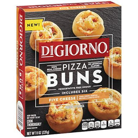DIGIORNO Five Cheese Frozen Pizza Buns 8 oz. Box -  NESTLE USA/PIZZA, 0007192160174