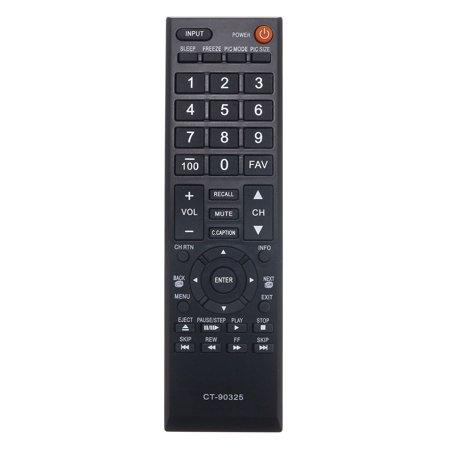 Replacement TV Remote Control for Toshiba 43L310U Television - image 2 de 2