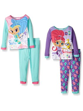 77497de728 Product Image Shimmer and Shine 4-Piece Girls Pajama Set. Nickelodeon