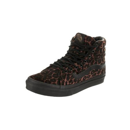 1056a17bcf Vans - Vans Unisex Sk8-Hi Slim (Suede Leopard) Skate Shoe - Walmart.com