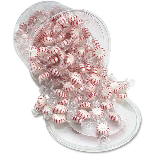 Office Snax Starlight Peppermints Hard Candy Tub