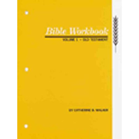 Bible Workbook: Old Testament
