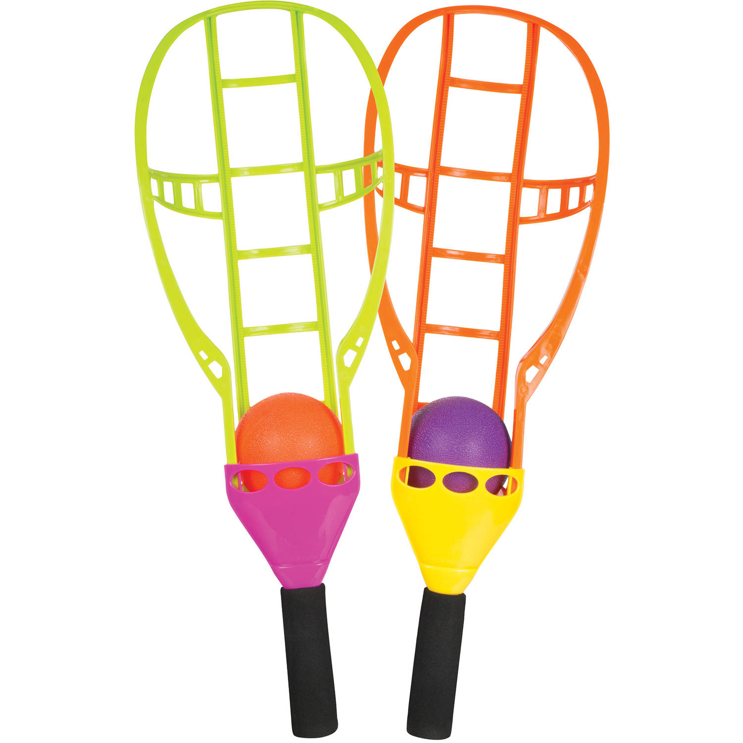 Toysmith Chuck N Catch Ball and Racket Game