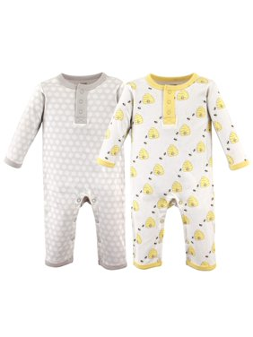 Hudson Baby Boy Coveralls, 2-Pack