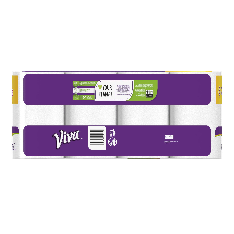Viva Paper Towels, Choose-A-Sheet, 8 Huge Rolls - Walmart.com