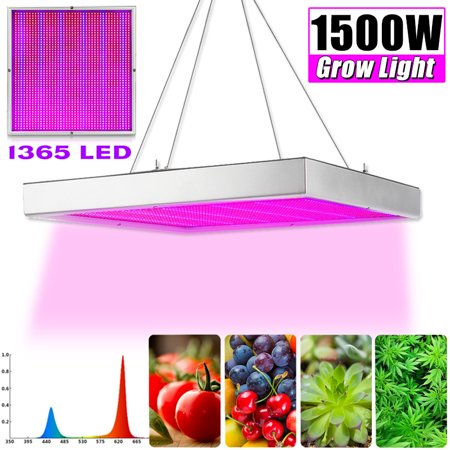1200W/1500W Plant Grow Light Growing Lamp 289/1365 LED Lighting Panel AC 85V-265V For Veg Indoor Plant Hot Hydroponic Flower Vegetable Seedling Growth Greenhouse Medical