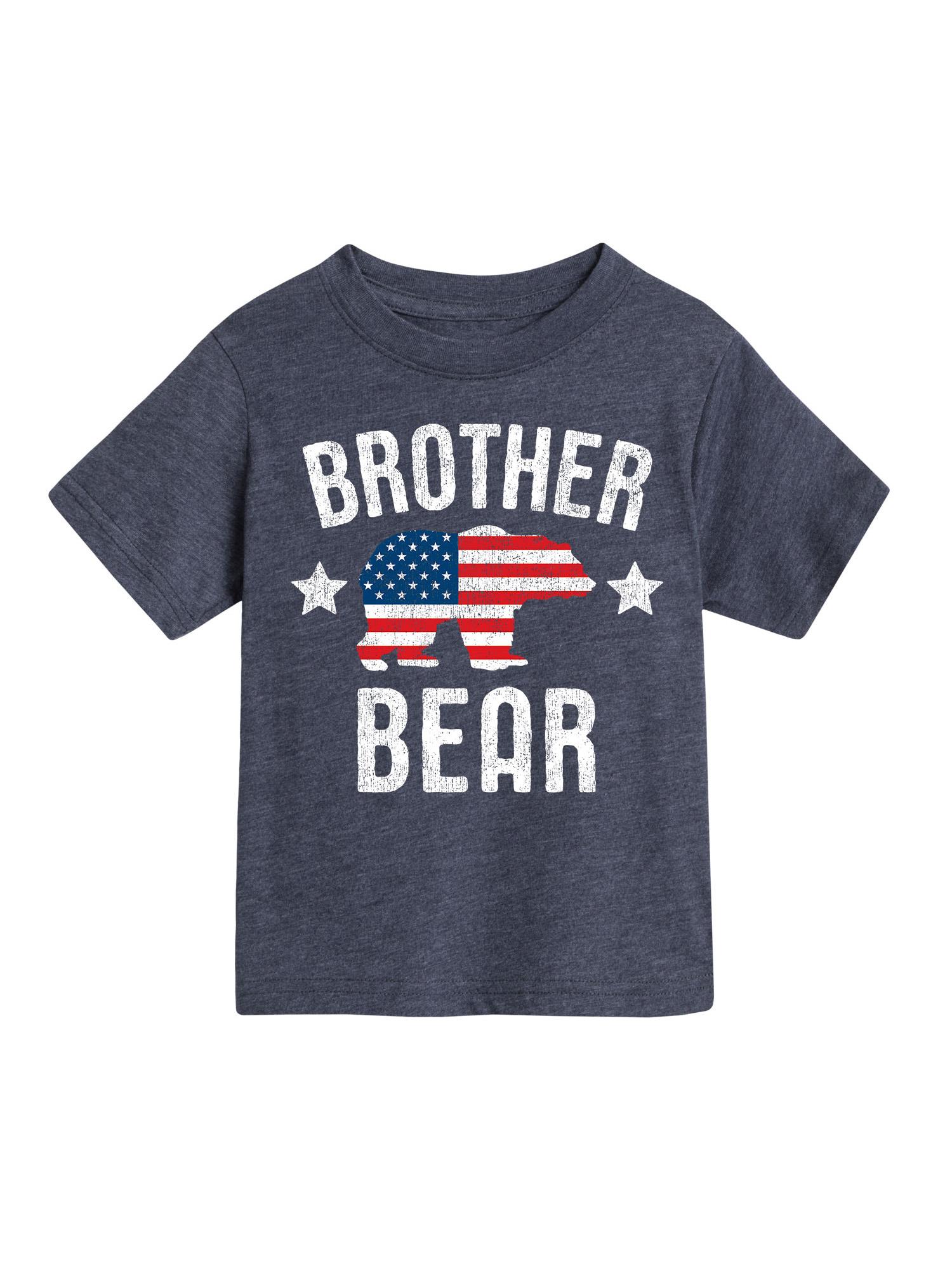 Brother Bear Patriotic  - Toddler Short Sleeve Tee