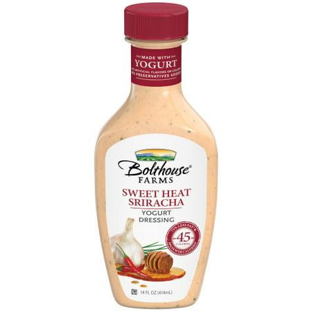 Bolthouse Farms Yogurt Dressing Sweet Heat Sriracha 14oz Walmart Com