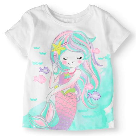 Toddler Girls' Short Sleeve Graphic T-Shirt