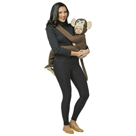 Huggables - Monkey Infant Halloween Costume (Infant Monkey Halloween Costumes)