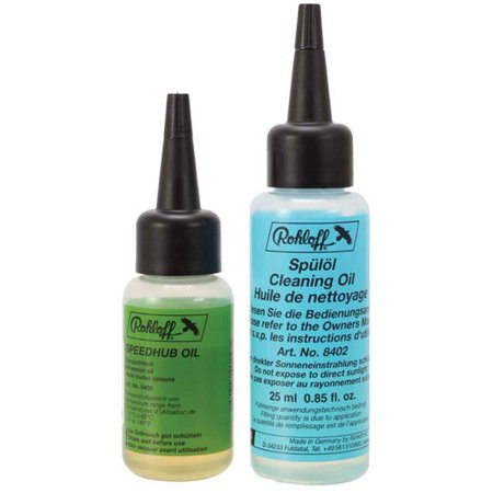 Rohloff Speedhub all weather and cleaning oil kit, 25ml each - 8411