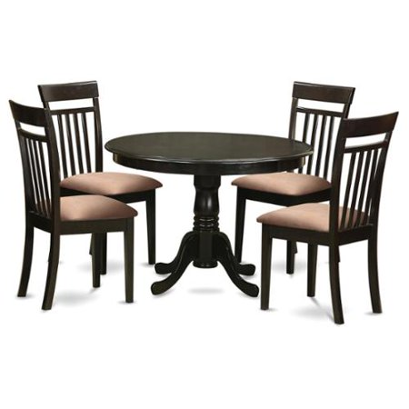 kitchen nook table and 4 dining chairs faux leather