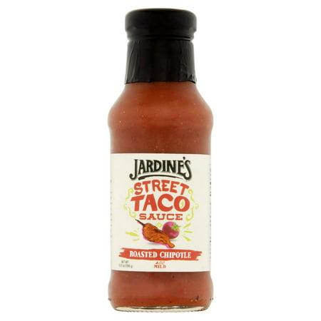 (2 Pack) Jardine's Roasted Chipotle Street Taco Sauce, 10.5