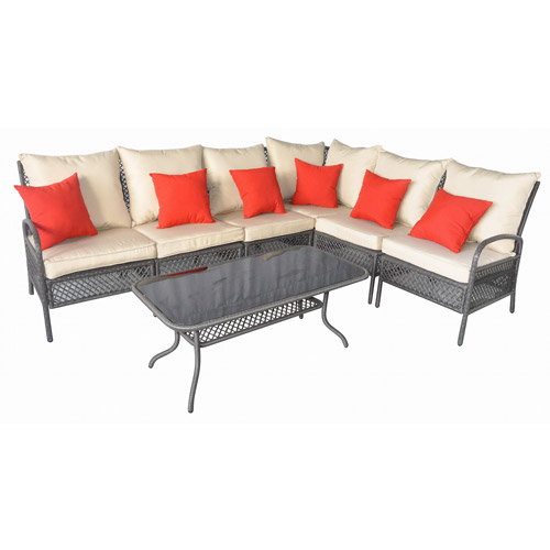 Mainstays Andrews 7-piece Outdoor Sofa Sectional S