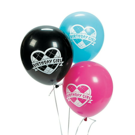Monster High Birthday Party Supplies (Monster High Latex Balloons (6pc) for Birthday - Party Supplies - Licensed Tableware - Misc Licensed Tableware - Birthday - 6)