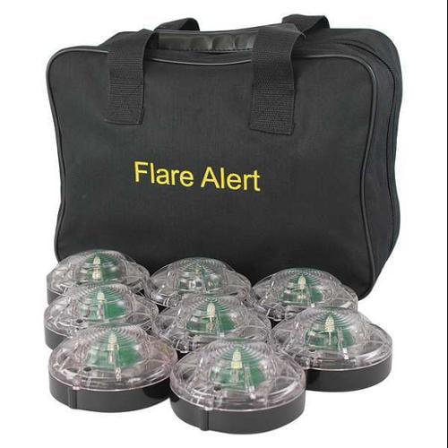 FLAREALERT B8WBP2ONLY LED Road Flare Kit, 1 Watt, white