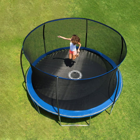Bounce Pro 14-Foot Trampoline, with Enclosure, (Bouncepro By Sportspower 15 Trampoline Weight Limit)