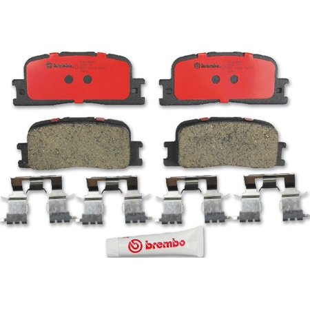 Go-Parts OE Replacement for 2002-2006 Toyota Camry Rear Disc Brake Pad Set  for Toyota Camry (Base / LE / SE / XLE)