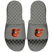 Baltimore Orioles ISlide Youth Primary Logo Slide Sandals - Gray