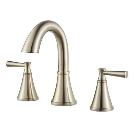 Pfister Cantara F-049-CR Widespread Bathroom Faucet - Brushed Nickel ...