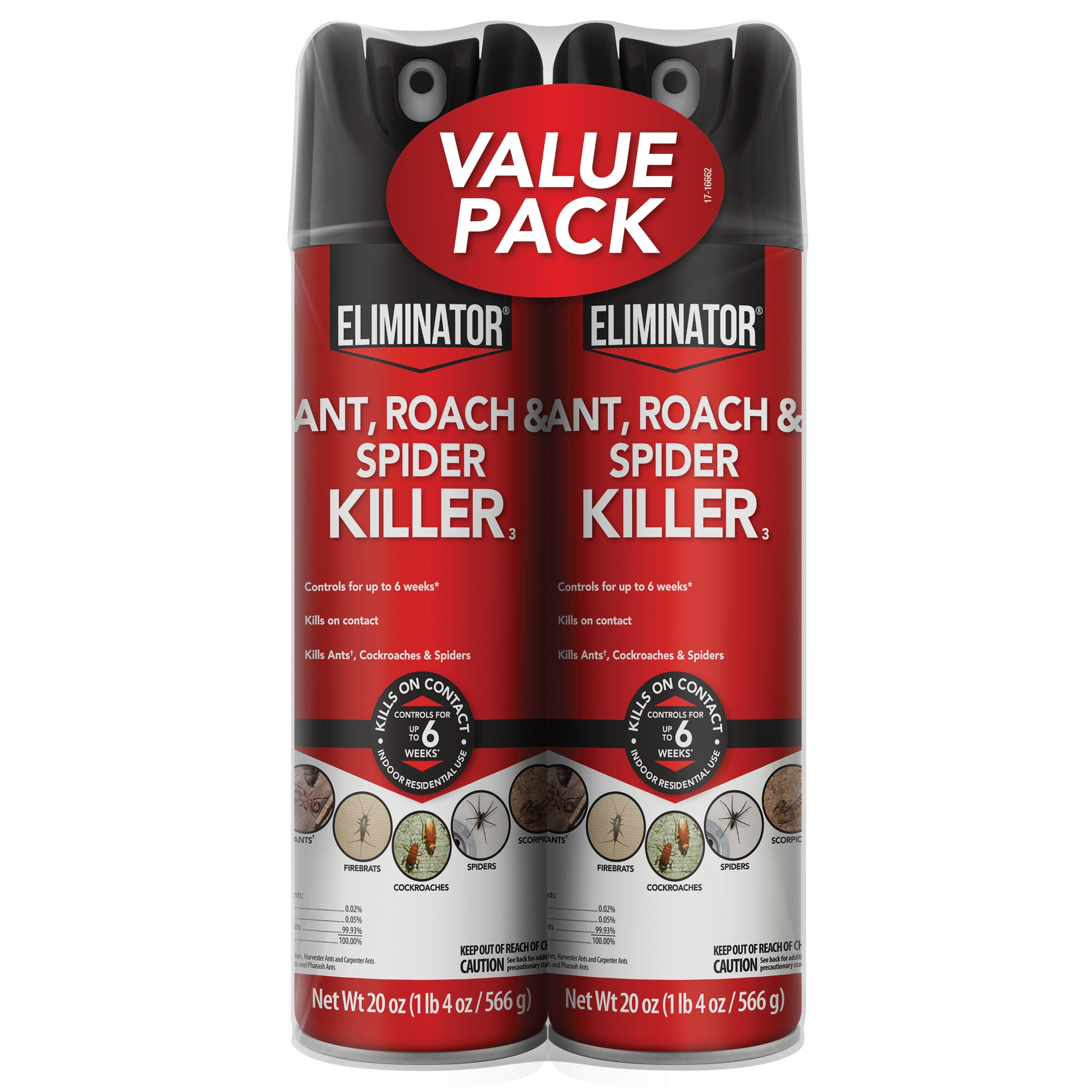 Eliminator Ant & Roach Killer, 2 Pack