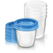 Philips AVENT 6 Ounce Breast Milk Storage Starter Set, BPA-Free, 5-Pack