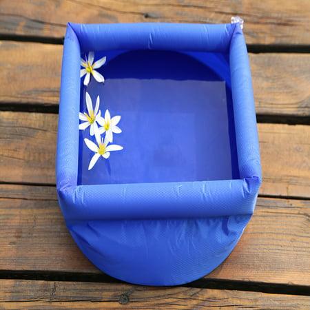 Vingtank Outdoor Folding Bucket Camping Travel Wash basin Inflatable Bucket - image 2 of 8
