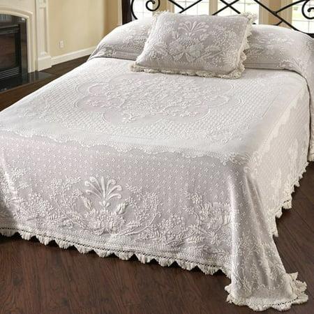 Maine Heritage Weavers Abigail Adams Matelasse Bedspread ()