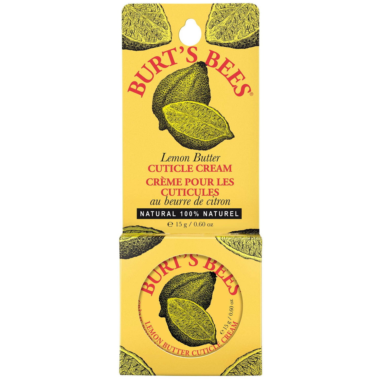 Burt's Bees Lemon Butter Cuticle Cream, 0.6 Ounces
