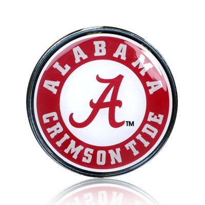 University of Alabama Seal Colored Metal Emblem