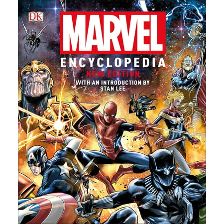 Marvel Universe Book - Marvel Encyclopedia, New Edition