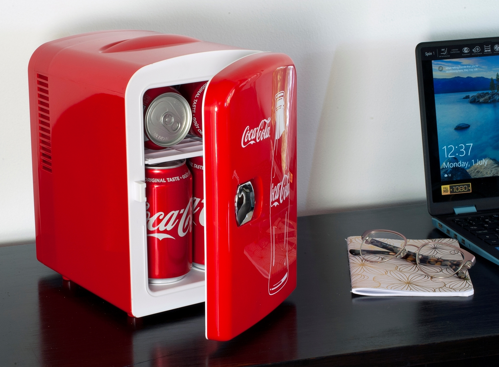 Coca-Cola Themed Mini Fridge O...