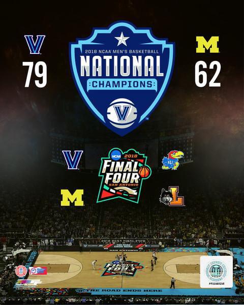 Villanova Wildcats 2018 NCAA Mens College Basketball ...