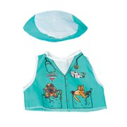 Dexter Educational Toys DEX1204 Veterinarian Dress Up For Dolls And Teddy Bears