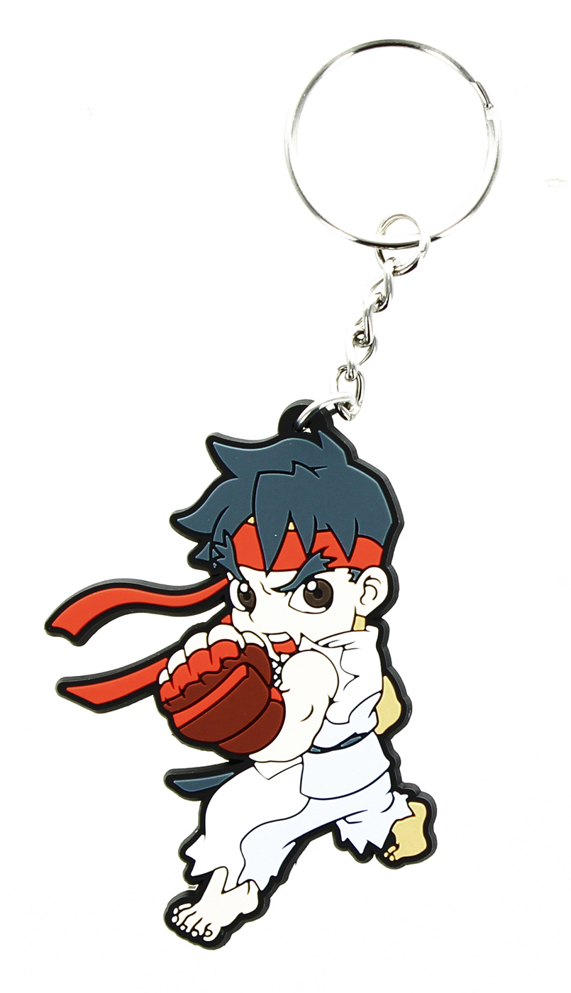 Street Fighter Chibi Key Chain Ryu
