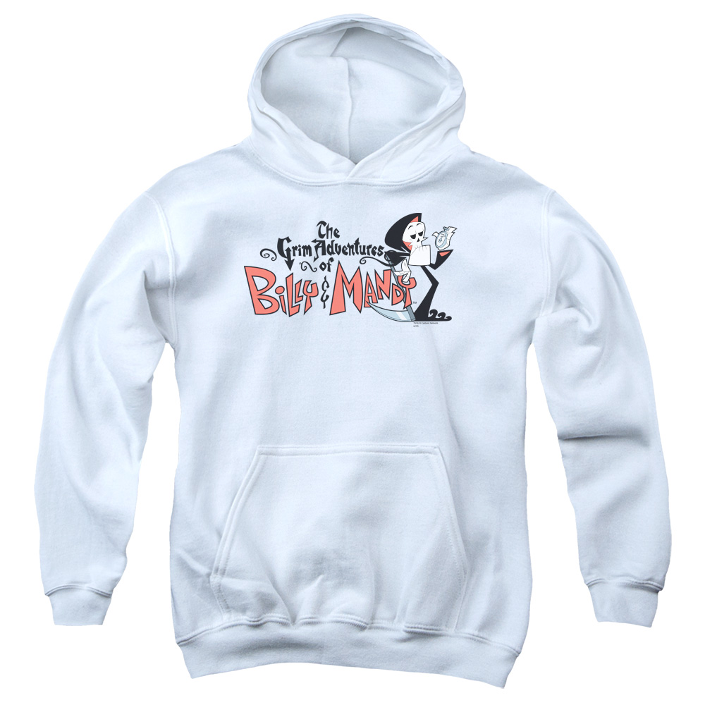 Billy & Mandy Logo Big Boys Pullover Hoodie