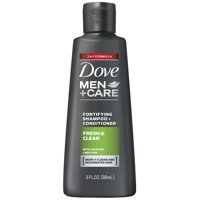 Dove Men+Care 2 in 1 Shampoo and Conditioner Fresh and Clean 3 oz