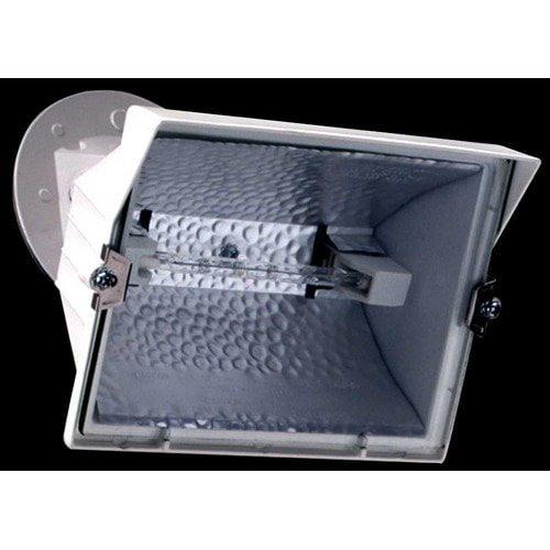 Cooper Lighting/Regent Light WQ500 Halogen Flood Light, White, 300/500-Watt