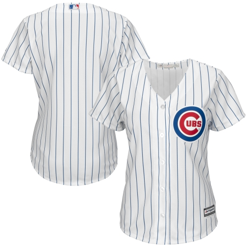 Chicago Cubs Majestic Women's Cool Base Jersey - White