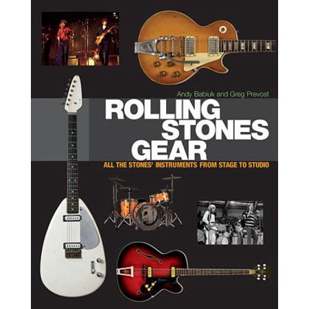 Studio Gears (Rolling Stones Gear : All the Stones' Instruments from Stage to)