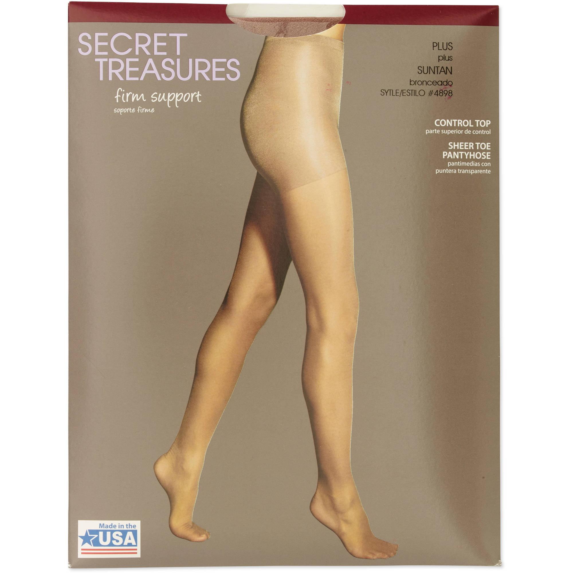 Compression pantyhose plus sizes