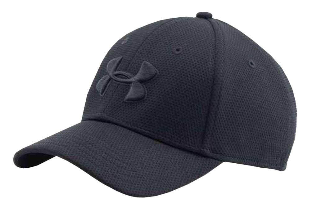 Under Armour - Under Armour Men s UA Blitzing II Stretch Fit Baseball Cap  Hat 1254123 - Walmart.com b3726706c1b