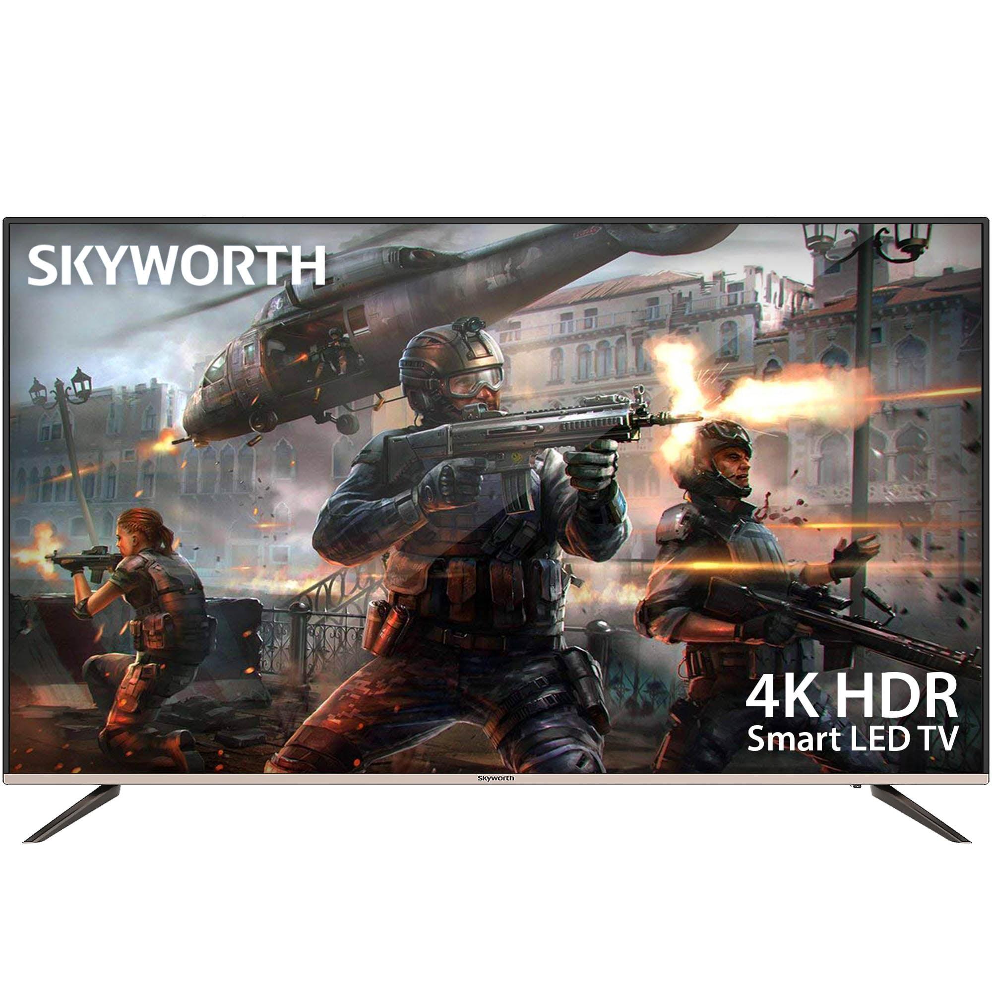 "Skyworth 50"" Class 4K Ultra HD (2160P) Premium G2 Series Smart Android LED TV (50G2A)"