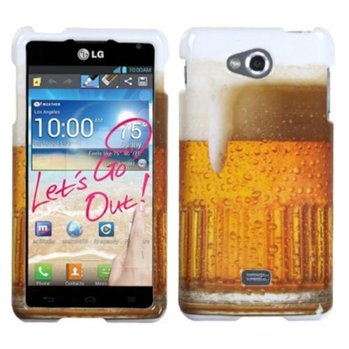 Insten Beer Food Fight Collection Phone Case Cover For LG MS870 Spirit 4G