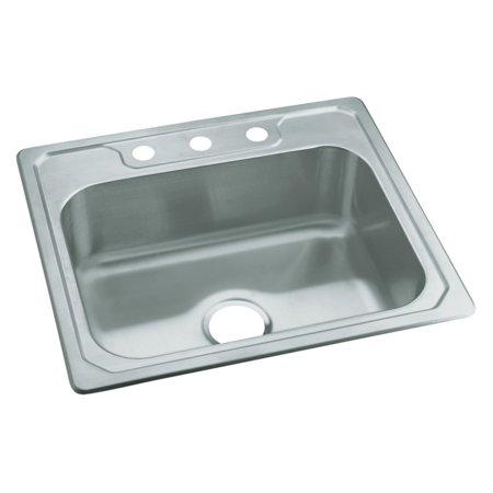 Sterling by Kohler Middleton® 14631-3 Single Basin Drop In Kitchen Sink