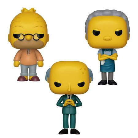Funko POP! Animation Simpsons Collectors Set 2 - Grandpa Abe Simpson, Moe Szyslak, Mr. Burns](Moe Simpsons)