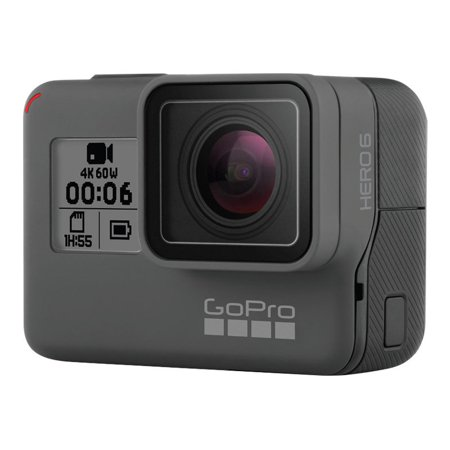 GoPro HERO6 Black - Action camera - mountable - 4K / 60 fps - Wi-Fi, Bluetooth - underwater up to
