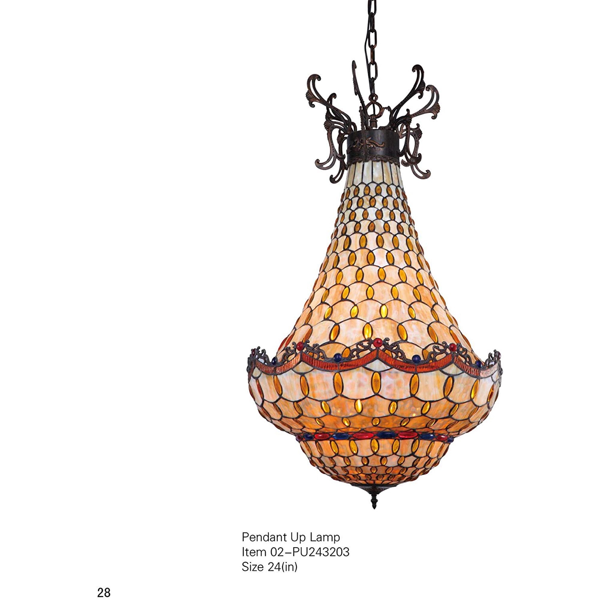 Viva Lifestyle Lighting Tiffany Style Victorian 6 Light E26 Ceiling Pendant Fixture Lights With 24 Inch Art Handmade Glass Shade Traditional Multi Colored Glass Chandelier Walmart Canada,Kids Designer Swimwear